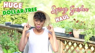 HUGE DOLLAR TREE SPRING GARDEN HAUL  | EP. 6