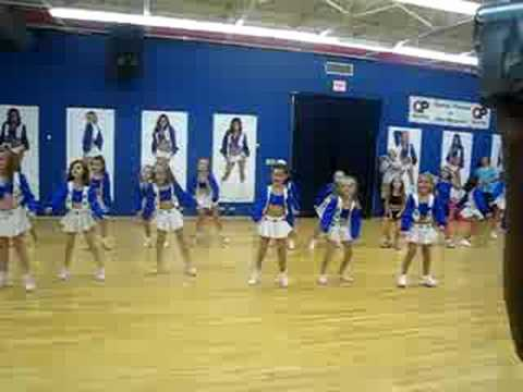 Dallas Cowboy Cheerleader Camp - YouTube 4030a9a44