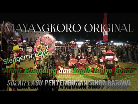 "MAYANGKORO ORIGINAL Lagu ""Akhir Sinanding & Sugih Tanpo Bondo"" Voc.Bu Latifah & Mbak.Della"