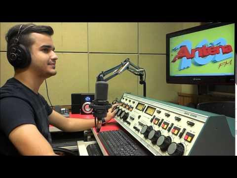 Abertura Programa De Rádio - Antena Hits #MatheusAugusto