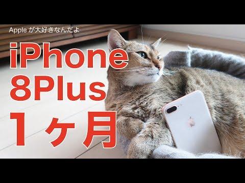 iPhone8Plusを使って1ヶ月:良かったこと、残念だったことのまとめレビュー