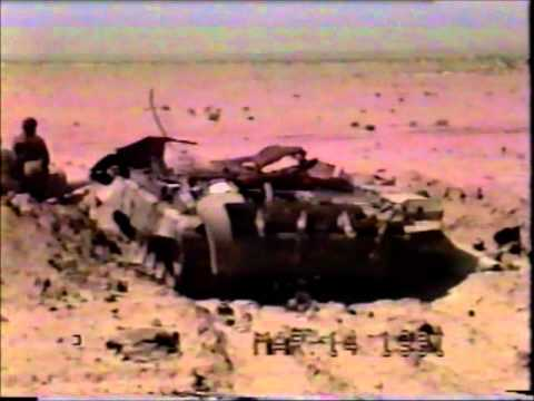 Battle of Medina Ridge, Feb 27, 1991; Field life, and burning Oil Fields of Kuwait
