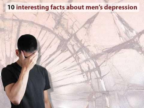 10 facts about men's depression
