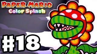 Paper Mario: Color Splash - Gameplay Walkthrough Part 18 - Plum Park 100%! (Nintendo Wii U)