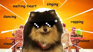 Proof that Yeontan (BTS) is good at everything