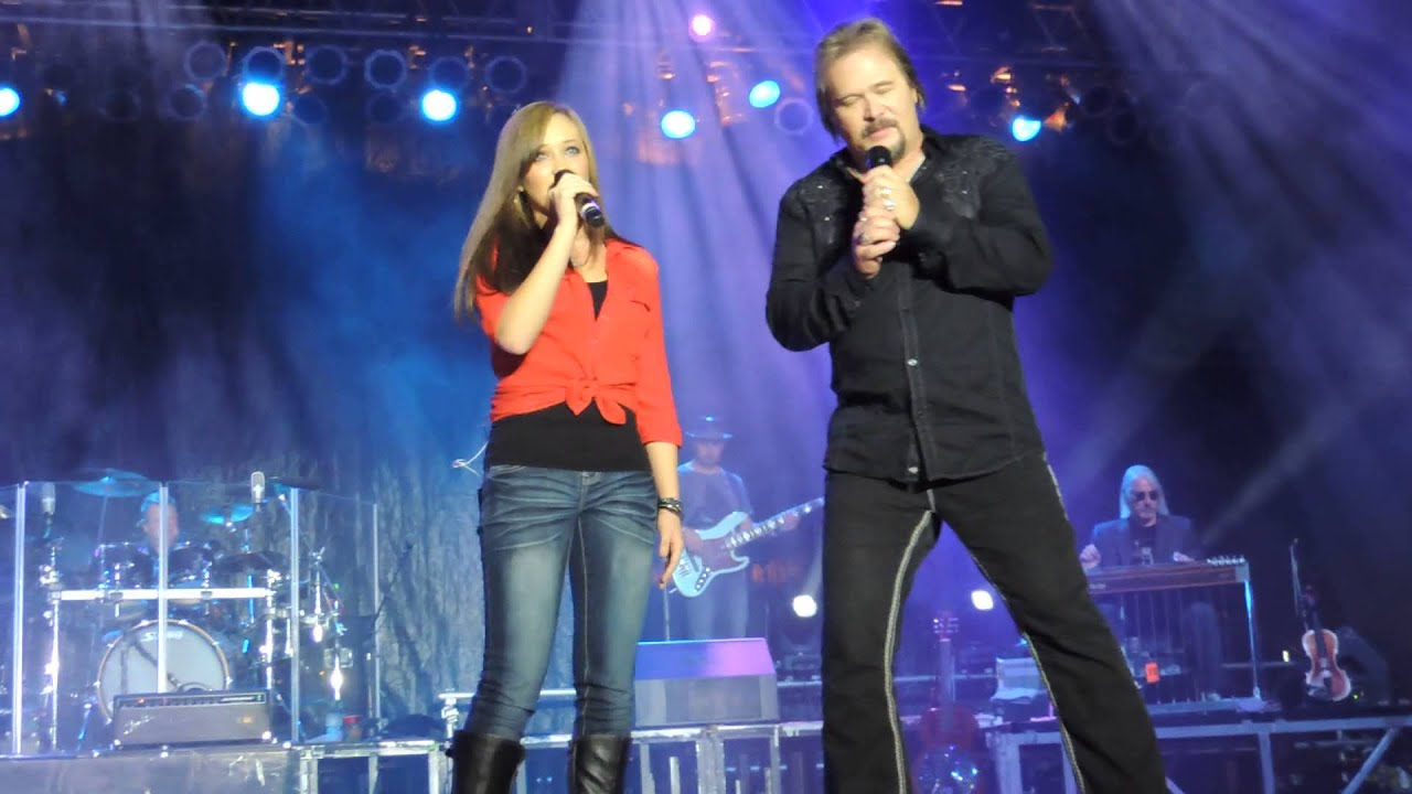 Travis Tritt & daughter Tyler Reese at the North Georgia State fair