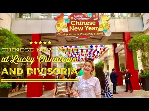 2018 Chinese New Year at Lucky Chinatown and Divisoria 168 999 Mall Walking Tour