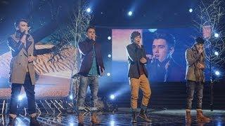 Union J sing Leona Lewis/James Morrison medley - Live Week 2 - The X Factor UK 2012