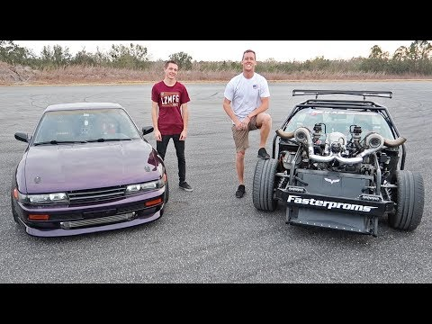 Drifting with Cleetus! (1100HP Twin Turbo LS)