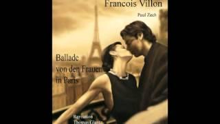Francois Villon-keine Frau küsst so süß-Rezitation Thomas Glantz. electrophorus.de
