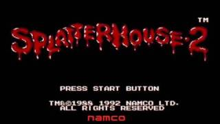 Splatterhouse 2 Game Review (Gen/Wii) TRAILER