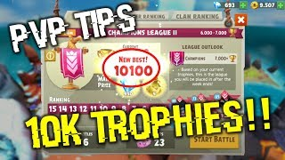 Angry Birds Evolution Arena PvP - Getting 10,000 Trophies!!!