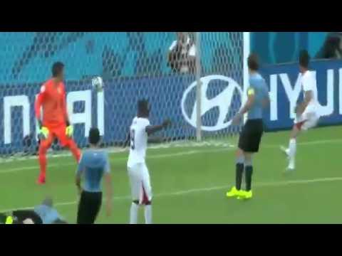 Costa Rica vs Uruguay los 3 goles de Costa Rica
