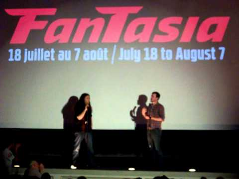 Joe Swanberg discussion QnA at the premiere of  YOU'RE NEXT last night here in Montreal video2