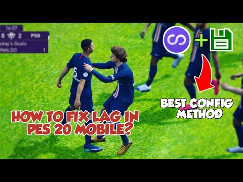 HOW TO FIX LAG IN PES 20 MOBILE | BEST CONFIG METHOD | SUPPORT ON ALL RAM USERS | FULL TUTORIAL |