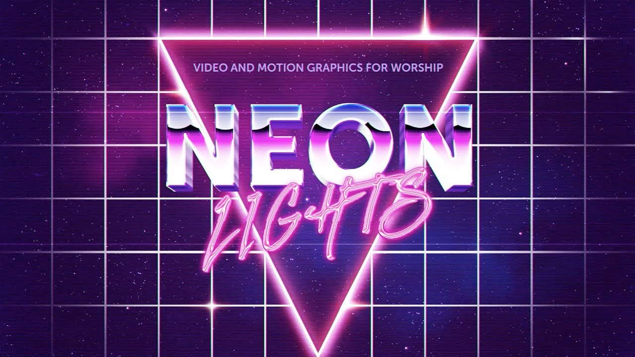 Church announcements announcement backgrounds sharefaith page 2 - Top Neon Videos And Church Motion Graphics For Worship Sharefaith Com