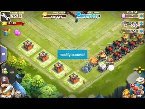 9999999 GEMS HACK!|Castle Clash