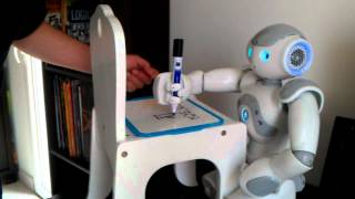 NAO Robot joue au pendu