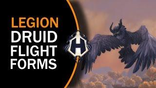 LEGION BETA | New Druid Flight Forms (Sentinel Owl)