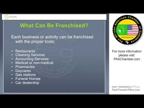 Franchising and Its Economic Importance for Africa