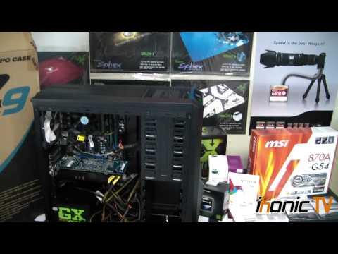 iKonic TV - Zalman Z9 Plus Chassis & AMD Gamer Build