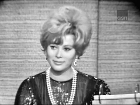 What's My Line?  Jill St. John; Tony Randall panel Aug 1, 1965