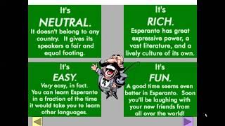 Corso di esperanto per italofoni. Lezione 2 (parte 1). 09/04/2020.