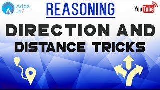 IBPS RRB PO & SSC CGL | Direction and Distance Tricks | Reasoning |  Online Coaching for SBI IBPS