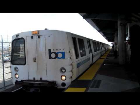 BART Dublin / Pleasanton Station California Bay Area Rapid Transit