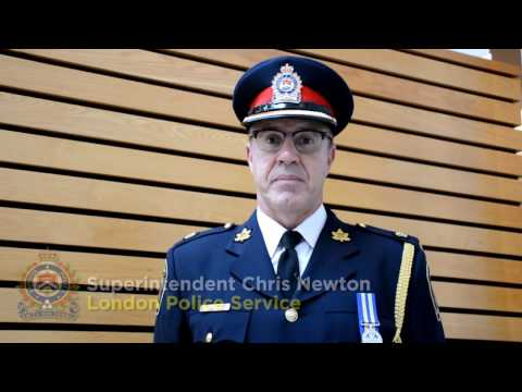 London Police Superintendent Chris Newton