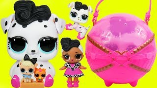 LOL Families The Dollface Family Biggie Pets Toys and Dolls Fun for Kids Under Wraps