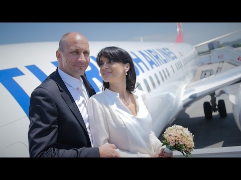 Turkish Airlines - Wedding Above The Clouds | Bulutların Üzerinde Düğün