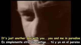 PHIL COLLINS - ANOTHER DAY IN PARADISE - Subtitulos Español & Inglés