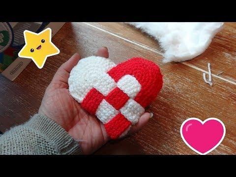 Dänisches Herz Häkeln Diy Youtube