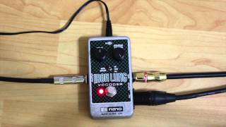"Gear Review: Electro-Harmonix ""Iron Lung"" Vocoder Pedal"