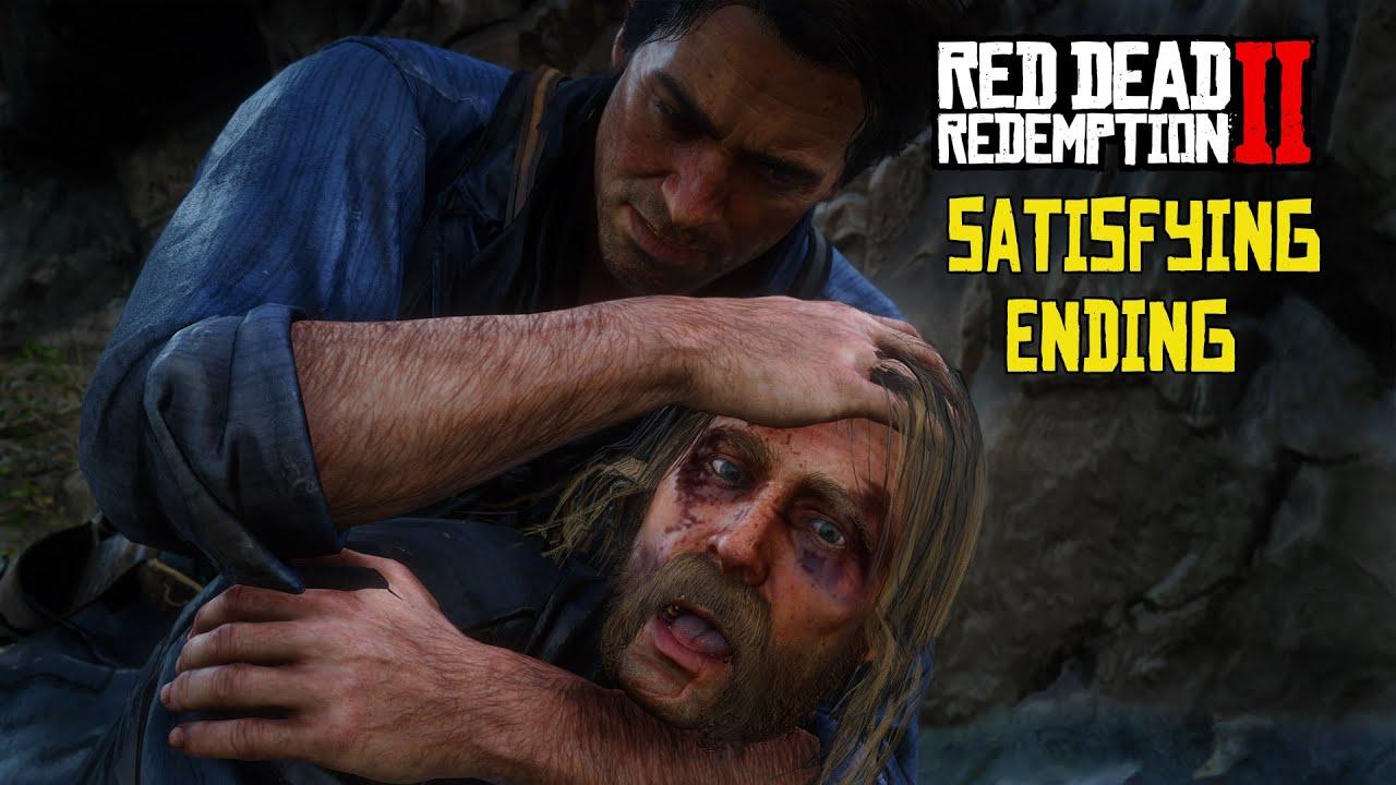 Download Arthur Kills Micah in Cliff Fight Ending Red Dead Redemption 2