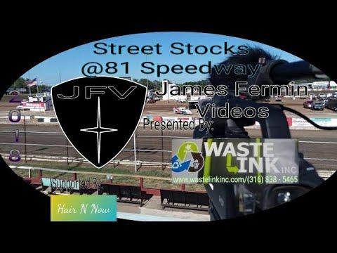 Street Stocks #4, Heat, 81 Speedway, 2018