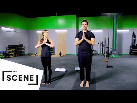 健身戰鬥營 l 上班前一定要做的醒腦瑜珈!每日三分鐘天天健康有朝氣