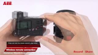AEE Technology: S71 Tutorial