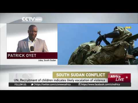 UN warns of rise in recruitment of child soldiers in South Sudan