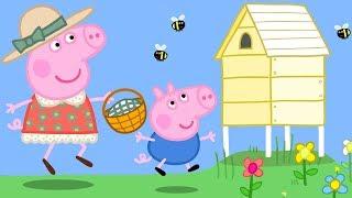 Свинка Пеппа на русском все серии подряд |  Домик на дереве  | Мультики