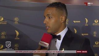لقاءات مع لاعبي لخويا المعز علي ويوسف العربي ونام تاي هي