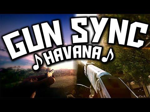 ♪ Camila Cabello - Havana ♪ - MULTIGAME GUN SYNC ft. Young Thug (TULE Remix)