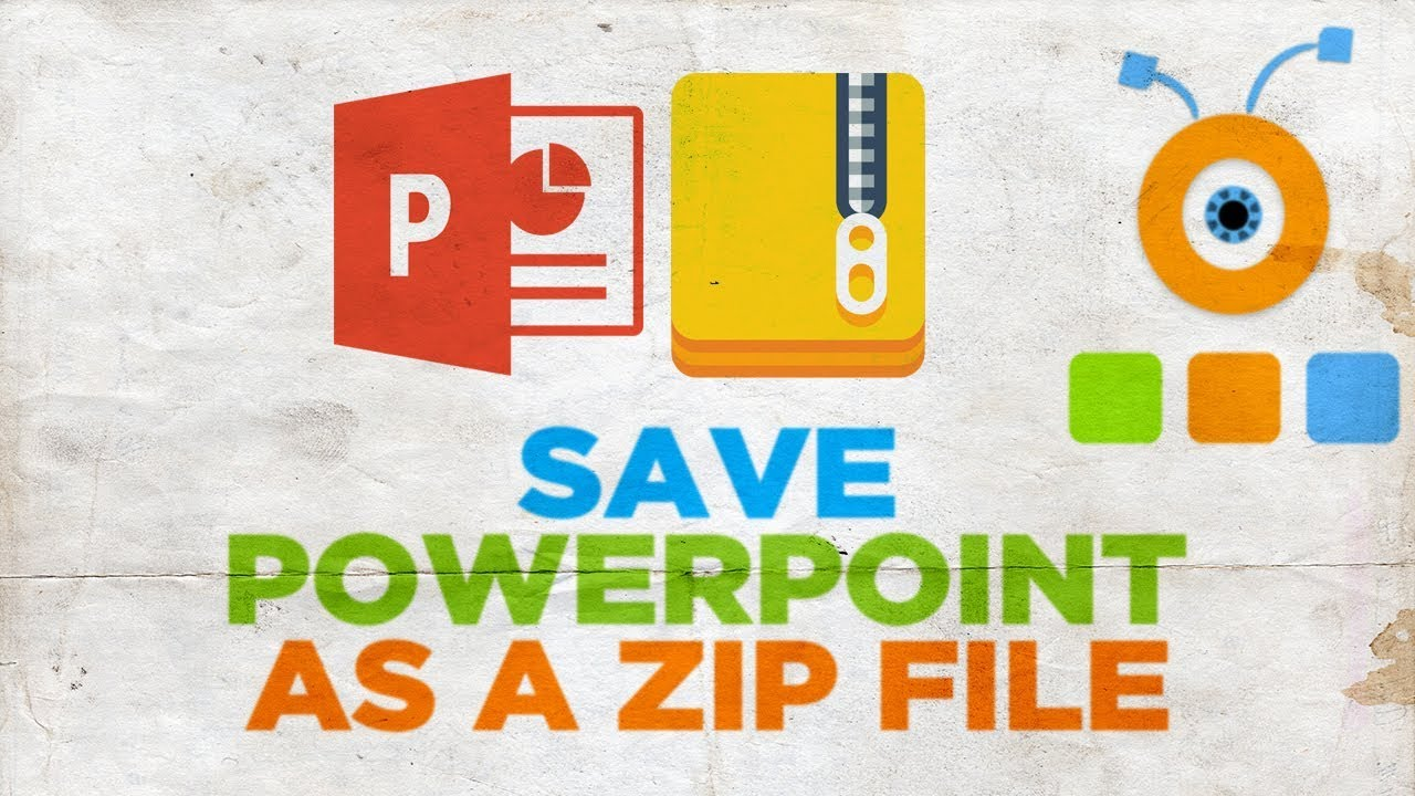zip a powerpoint presentation