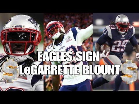 Eagles Sign LeGarrette Blount   One Year Deal