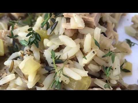 Turkey and Wild Rice Casserole Recipe Homemade Turkey and Wild Rice