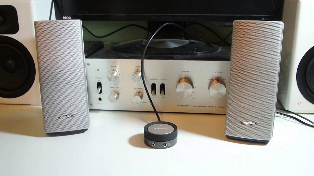 Bose Companion 20 Sound Test Dubstep - YouTube