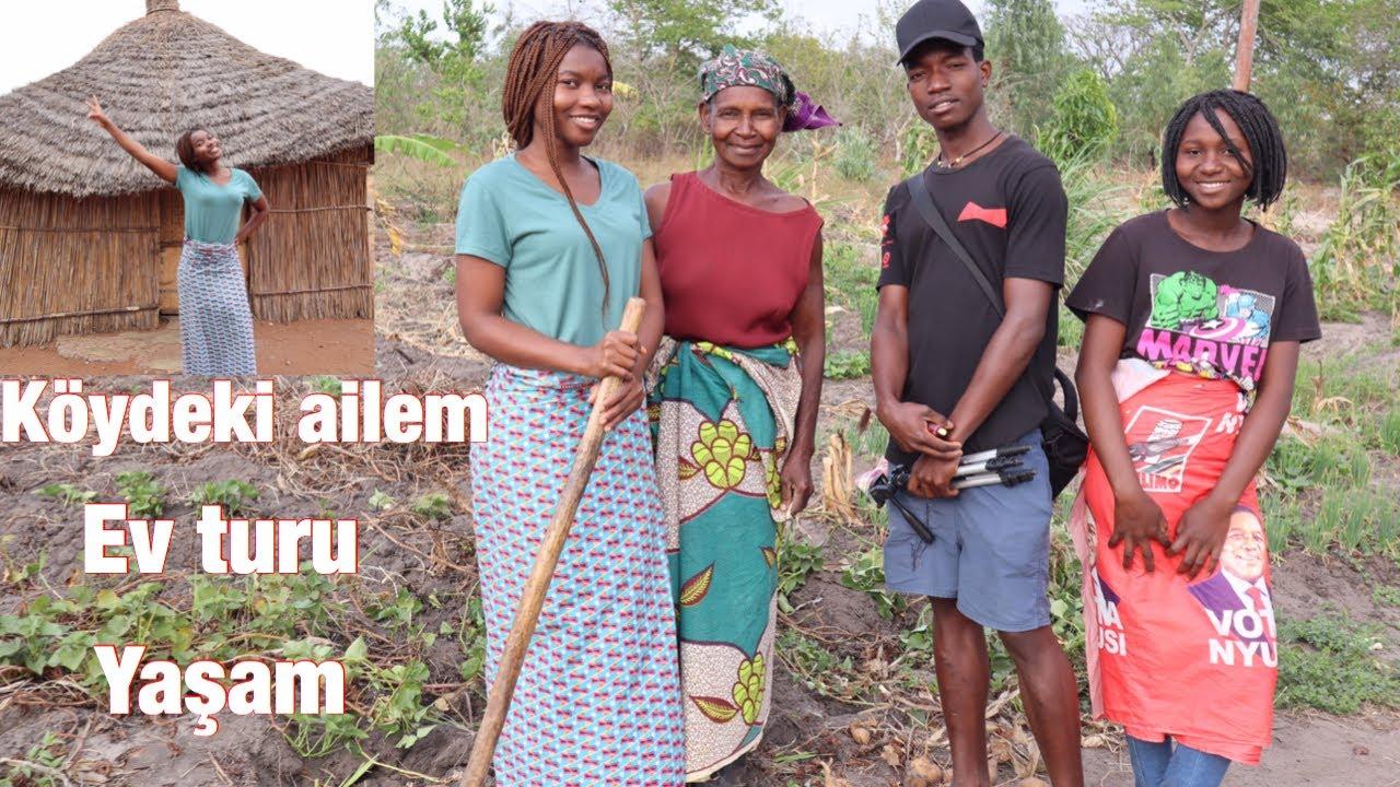 AFRİKA'NIN KÖYÜNDE BİR GÜN GEÇİRMEK