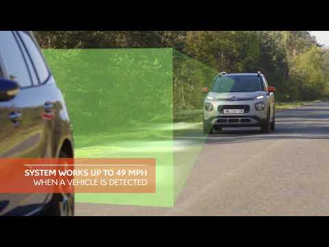 New Citroën C3 Aircross : Active Safety Brake