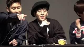 [161009] 블루밍피리어드 DVD 팬싸 영상 - 태일 (블락비)